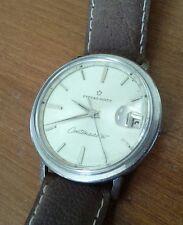 Vintage men's ETERNA-MATIC CENTENAIRE 61 automatic wristwatch 1438U runs good 4R