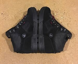 DVS Westridge Size 7.5 Eero Ettala Black Trubuck BMX DC MOTO Snow Series Boots