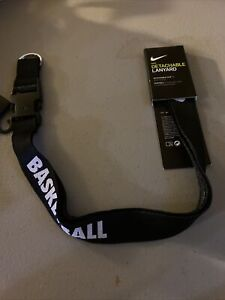 Nike™ Detachable Lanyard Basketball Black