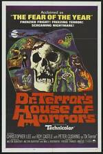 DR. TERROR'S HOUSE OF HORRORS (HAMMER DVD, 1965 PETER CUSHING, CHRISTOPHER LEE)