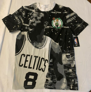 NBA Boston Celtics Kemba Walker Faces of The NBA T Shirt Medium NWT