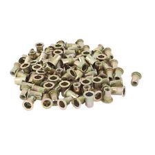 100Pcs Zinc Plated Carbon Steel Rivet Nut Rivnut Insert Nutsert 1/4-20 P9Z5