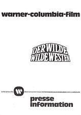Der Wilde wilde Westen Presseheft press book Blazing Saddles Gene Wilder Little