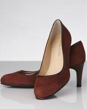 Artigiano Suede Court Shoes Toffee UK 6 EU 39 Ln29 32