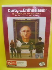 CURB YOUR ENTHUSIASM DVD (REG 4) SIXTH SEASON 6 - 2008 LARRY DAVID