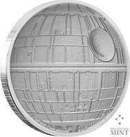 2020 Star Wars - * DEATH STAR * - 1oz Silver Proof Coin - Box, Case & COA