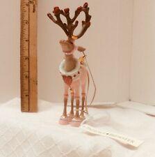 """Patience Brewster Christmas Reindeer Ornament  """"Cupid"""""""