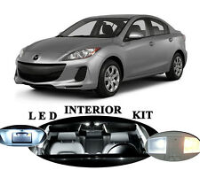 LED Package - Interior + License Plate + Vanity for Mazda 3 MS3 (10 pieces)