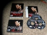 Painkiller Heaven's Got a Hitman (PC, 2004) Mint Game with manual, box and key