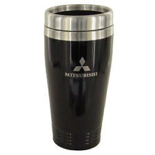 Mitsubishi Black Stainless Steel Coffee Tumbler Mug