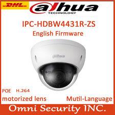 IPC-HDBW4431R-ZS IP Camera 4MP 2.8mm-12mm varifocal IR IP Dome POE