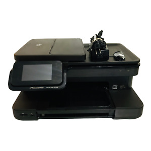 HP PhotoSmart 7525 All-In-One Inkjet Color Printer with INK Power Supply Working