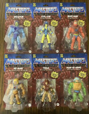 2020 Masters of the Universe Origins Complete Set of 6 Figures He-Man