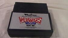 Webwars Web Wars Vectrex Gce Game Cart Cartridge - Wow!
