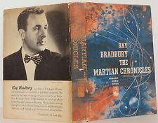 RAY BRADBURY The Martian Chronicles SIGNED FIRST EDITION