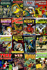 205 Issues Golden Age Horror Comics on DVD – D4