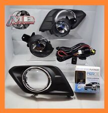 fits 2014 2015 2016 NISSAN ROGUE Clear Fog Light Kit Wiring+Switch PERDE 6000K