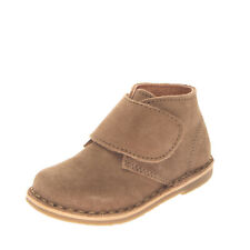 OCA-LOCA Suede Leather Ankle Boots Size 20 UK 3.5 US 4.5 Round Toe