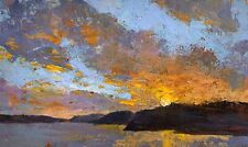 Original Acrylic painting by Awards Winning Australian Artist - Sunset