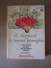 Il Signore di Buona Famiglia disegni di Novella Mondadori 1968   [G734E] BUONO