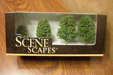 "BACHMANN SCENE SCAPES N SCALE DECIDUOUS TREES  2"" - 3""  (4) TREES/BOX"