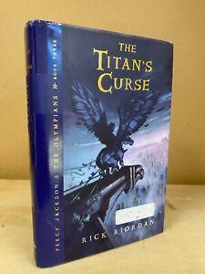 Rick Riordan~THE TITAN'S CURSE~SIGNED Free Shipping!