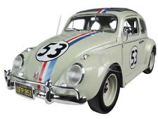 "VOLKSWAGEN BEETLE ""THE LOVE BUG"" HERBIE #53 1/18 DIECAST MODEL HOTWHEELS BLY59"