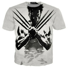 Wolverine Logan  Comics X-Men Avengers T-Shirt 3D Print Men Women S-5XL