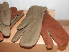 USSR Soviet Russian army paratrooper VDV military 3-finge winter mittens, gloves