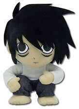 "Death Note ~ 8"" L PLUSH FIGURE ~ Official Great Eastern Company"