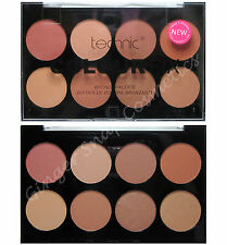 Technic 8 Colour BRONZER Palette Set Kit Face Bronzing Powder Bronze Sunkissed