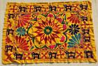 """40"""" x 30"""" Vintage Rabari Throw Embroidery Ethnic Tapestry Tribal Wall Hanging"""