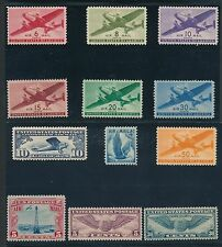 US *32 EARLY AIRMAILS (1926-1954)* GREAT VALUE- HI QUALITY**; MOSTLY MLH