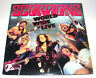 SCORPIONS 'WORLD WIDE LIVE' 1985 STEREO DOUBLE LP EX+/EX
