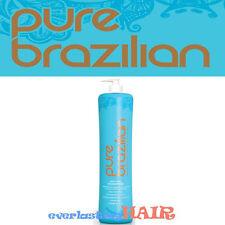 PURE BRAZILIAN ANTI-FRIZZ SHAMPOO 33.8oz/1l WITH PUMP!!!