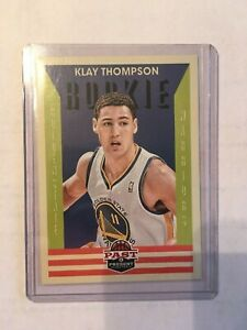 2012-13 Panini Past And Present Klay Thompson Rookie Card # 172