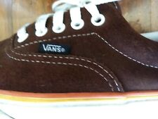 Vans brown suede sneakers 11
