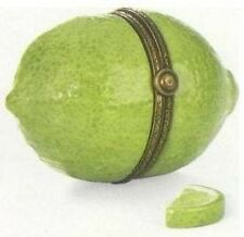 Lime Fruit Phb Porcelain Hinged Box by Midwest of Cannon Falls