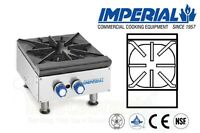 IMPERIAL HOT PLATES OPEN BURNERS CAST IRON GRATES PROPANE MODEL IHPA-1-12