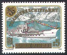 Austria 1989 Paddle Steamer/Ferry/Boat/Ship/Sail/Transport/Heritage 1v (n24862)