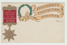 United Order of the Golden Star, MA c. 1910 Massachusetts