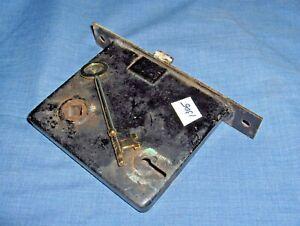 #1305 - VINTAGE/ANTIQUE MORTISE DOOR LOCK ASSEMBLY - SKELETON KEY TYPE