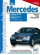 Mercedes Benz E Klasse w210 w211 Reparaturanleitung Reparatur-Handbuch Wartung