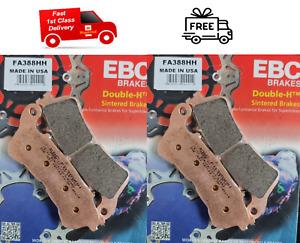 Honda CB 1000 R ABS 2009 - 2016 EBC Sintered FRONT Disc Brake Pads FA388HH X2