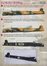 Print Scale 1/72 Armstrong-Whitworth A.W.38 Whitley # 72099