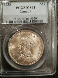 1935 PCGS MS64 Canada Dollar (#16490794)