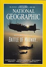 National Geographic April 1999 -- Midway, Galapagos, Copper Age, Vernal Pools