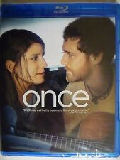 ONCE (Blu ray,Region A, 2008) Glen Hansard, Marketa Irglova NEW/SEALED -
