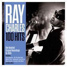Ray Charles - 100 Hits - One Hundred Original Recordings 4CD NEW/SEALED