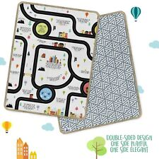 Extra Large Baby Mat Double Sided & Reversible Playmat Christian Activity Rug